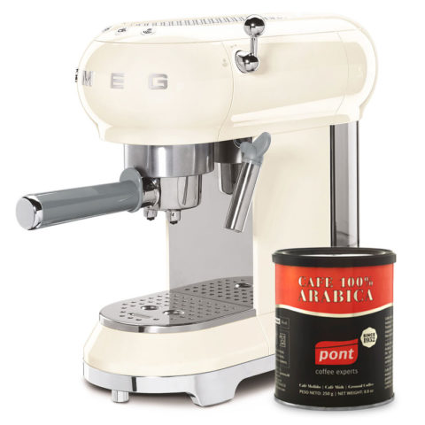 Smeg Cream Coffee Maker