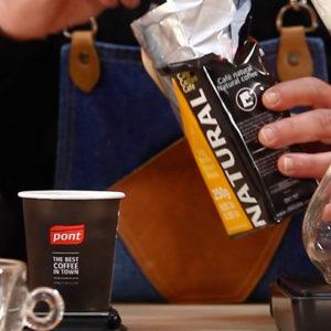 Preparar café con Chemex