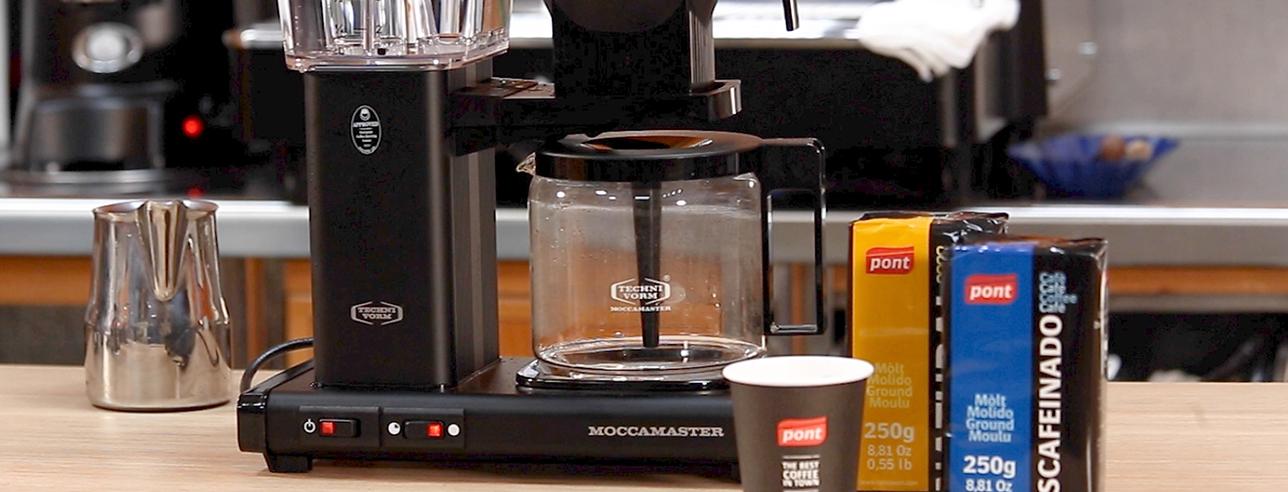 Preparar café con filtro