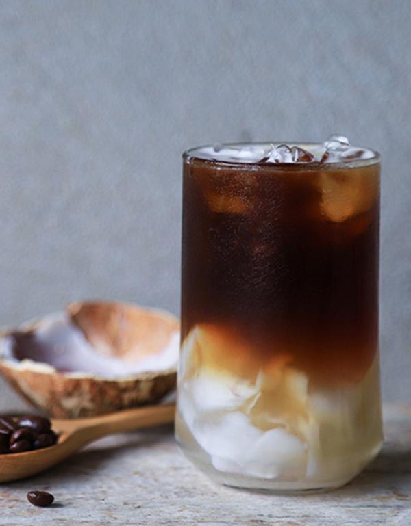 Cold Brew Café con coco receta